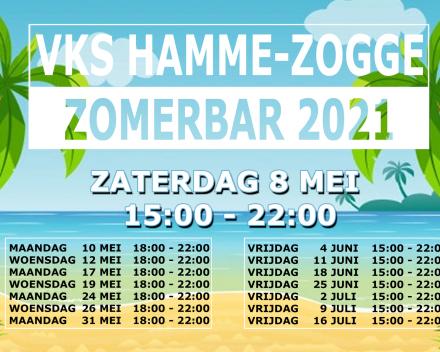 Heropening terrassen 8 mei : VKS Hamme-Zogge zomerbar 2021 !!