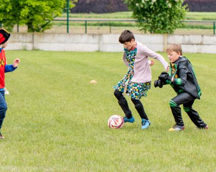 Laatste (foute) jeugdtrainingen van het seizoen