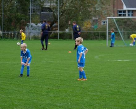 U6 zaterdag 12 oktober 2019 : SKV Overmere vs VKS Hamme-Zogge