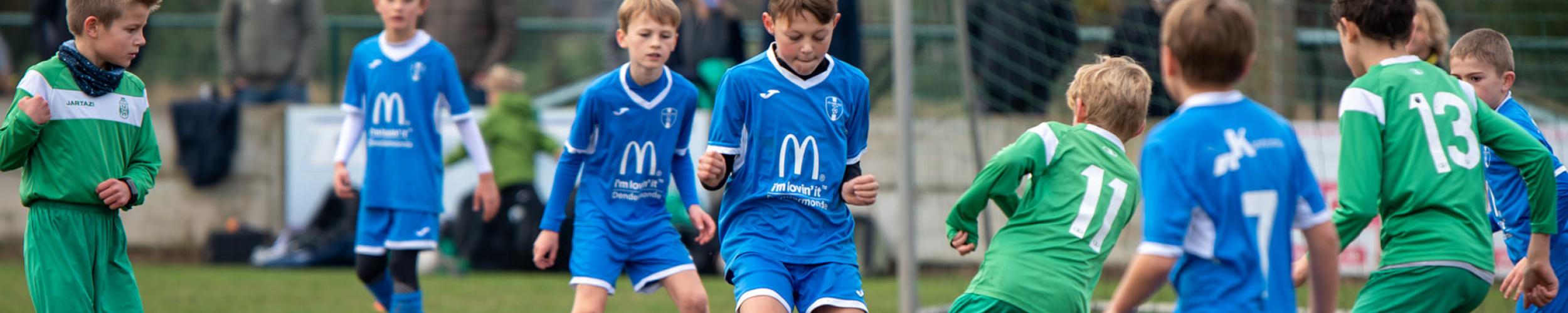 Nieuwe jeugdspelers seizoen 2021-2022
