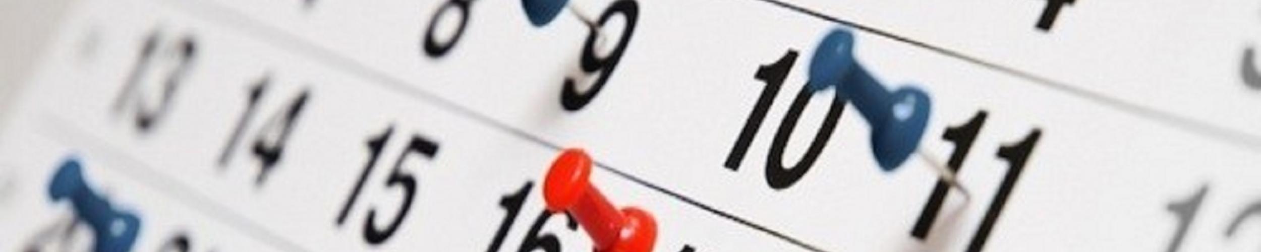 Kalender 1e Elftal